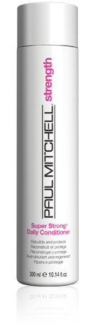 Paul Mitchell Super Strong Daily Conditioner available at the Colorist Bar & Salon in Cleveland