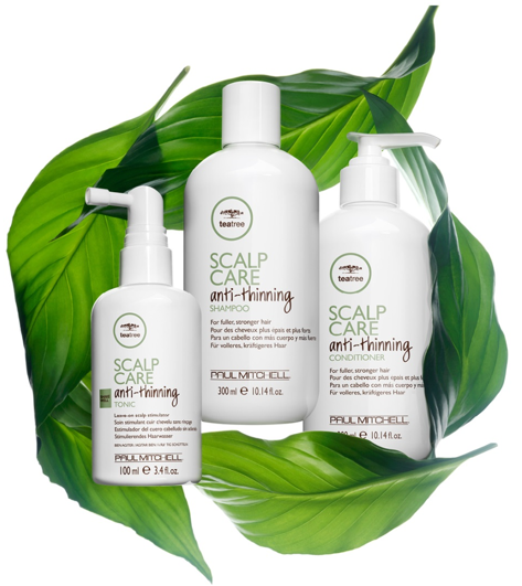 New Tea Tree Scalp Care Anti-Thinning available at The Colorist Bar & Salon in Highland Heights