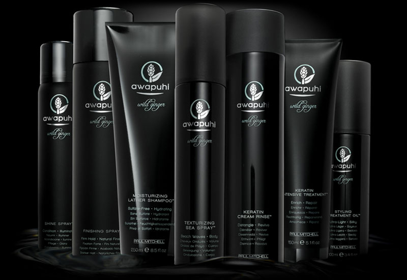 Paul Mitchell Awapuhi Wild Ginger Hair Care Product Line