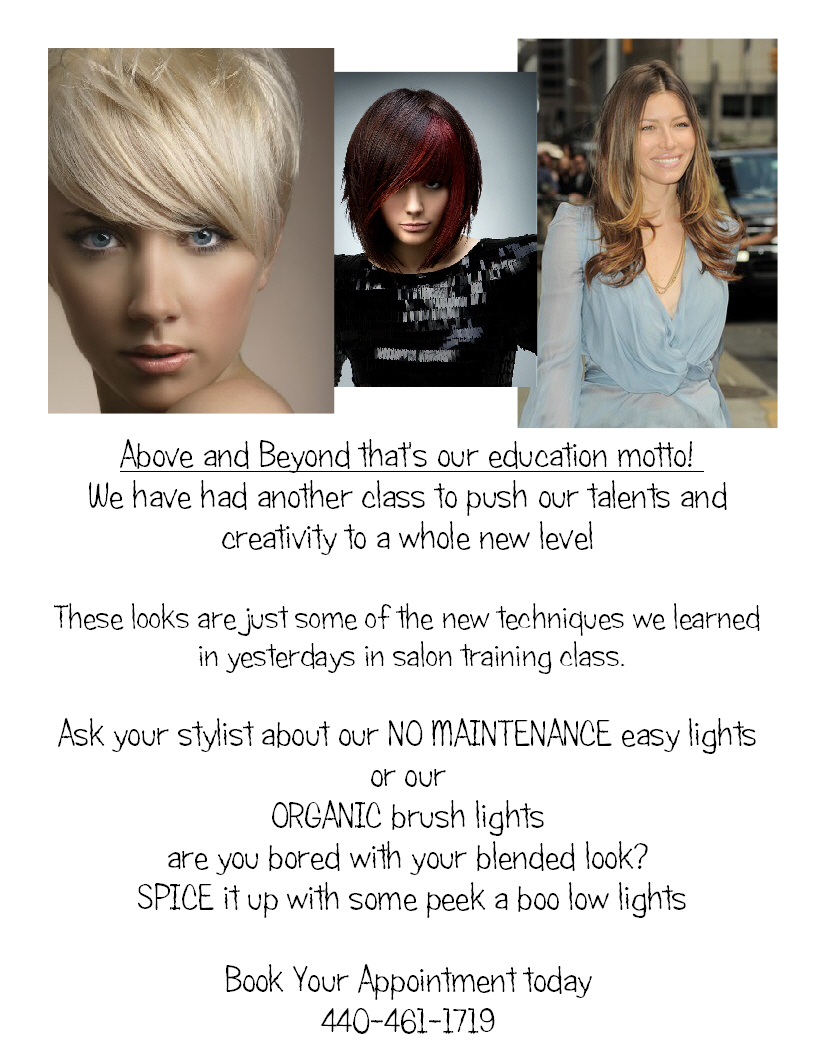 The Colorist Bar and Salon color class information