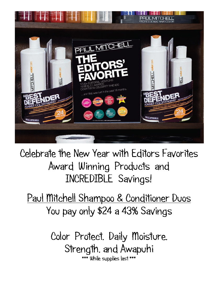 Paul Mitchell Shampoo and Conditioner Duos