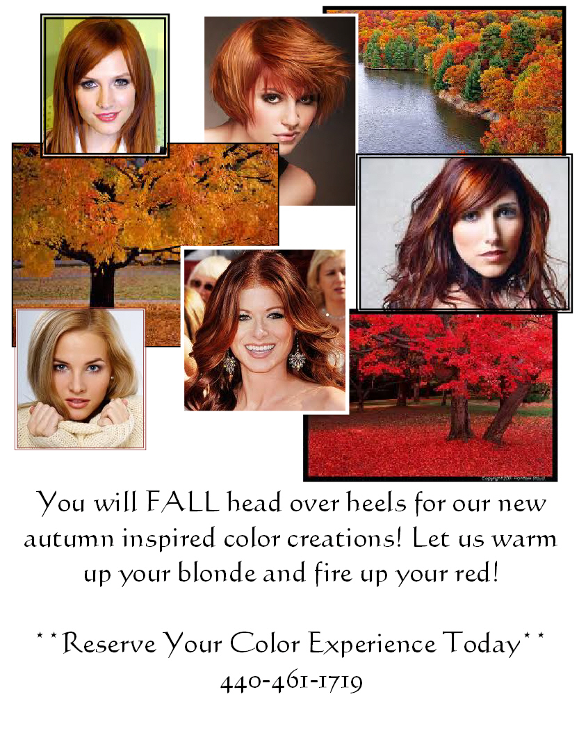 Fall Hair Color Inspiration | The Colorist Bar and Salon