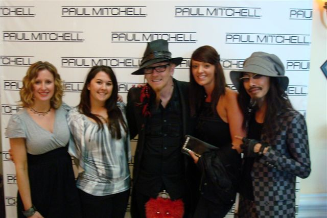 The Colorist Bar and Salon Team at the Inspiring Hair Show