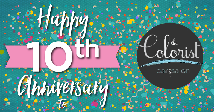 Happy 10th Anniversary to The Colorist!