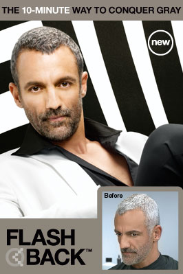 Men's Hair Color, conquer gray