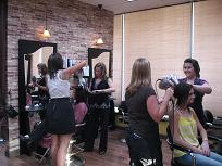 The Colorist Bar and Salon staff team