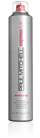Paull Mitchell Worked Up hair spray - get yours today at The Colorist Bar & Salon in Cleveland